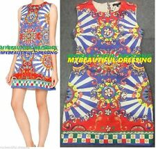 Polyester Shift Casual Multi-Colored Dresses for Women