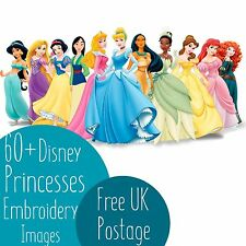 60 + PRINCIPESSE della Disney macchina ricamo PES Design immagini su CD