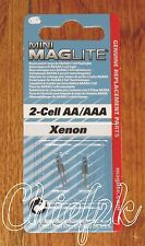 Maglite 2 Cell AA / AAA Mini-Mag Xenon Bulbs Maglight 2 Cell AAA 2 Cell AA