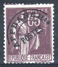"FRANCE STAMP TIMBRE PREOBLITERE 73 "" PAIX 65c VIOLET-BRUN "" NEUF xx TB  P078"