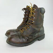 Red Wing 1411 Insulated Waterproof Leather Work Boots Brown Men's Sz 12