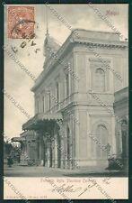 Milano Monza Stazione cartolina QQ8330