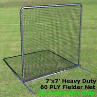 Fielder Safety Screen 7' x 7' Replacement Rectangular Net #42 HDPE with NO FRAME