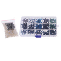 150pcs 6-12mm Plastic Safety Eyes Box for Teddy Bear Puppet Doll DIY Accs