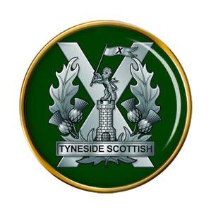 Tyneside Scottish Regiment, British Army Pin Badge