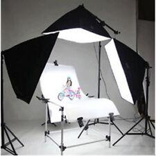 Profi Fotostudio Studioset mit Softbox Aufnahmetisch Lampenstativ 4x135W