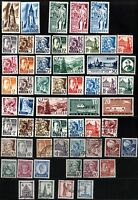57 GERMAN French Occupation BADEN Stamps Postage Collection MINT LH USED