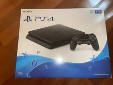 BRAND NEW UNOPENED Sony PlayStation 4 Slim 1TB Console - Jet Black