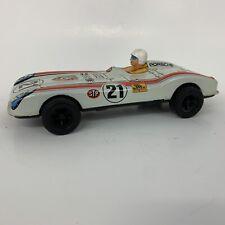 """VTG Tin Race Car Japan Friction Power Champion Porche #21 9""""L"""