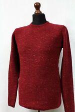 Nils Sundström Herren Mens pullover Wolle langarm shirt sweater jumper L