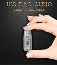 USB DAC HiFi Sound Card PCM2706 Decoder Audio Converter Headphone Amp