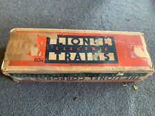 Lionel 004 Hudson Locomotive Box - Empty Box - Vintage