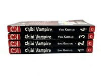 Chibi Vampire Graphic Novels 1-4 Manga by Yuna Kagesaki in English