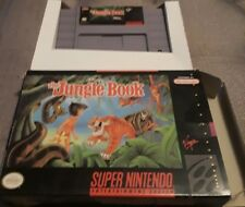 Disney's The Jungle Book Super Nintendo SNES in box no booklet good condition