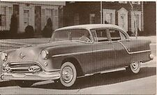 1954 Oldsmobile 88 Super Four Door Sedan Postcard