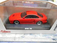 BMW m8 850i v12 COUPE e31 SPORT ROSSO RED Pro R Schuco resin 1:43
