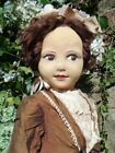 """EXTREMELY RARE ANTIQUE C1922 VERY LARGE 35""""  NORAH WELLINGS GIRL DOLL (ENGLISH)"""
