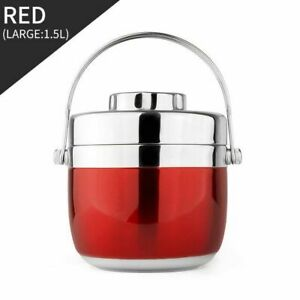 Bento Box Food Thermal Jar Leak Proof Stainless Container Best Christmas Present