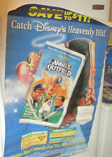 ANGELS IN THE OUTFIELD POSTER VIDEO STORE 1995 ORIGINAL VINTAGE   DISPLAY