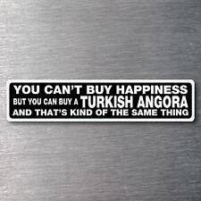 Buy a Turkish Angora sticker quality 7 yr water/fade proof vinyl kitten cat