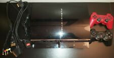 PS3 60GB CECHC03 PS1 PS2 Backwards Compatible and ps3 controllers