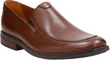 Men's Clarks Becken Step Apron Toe Loafer 7 1/2 Tan Leather 26123140