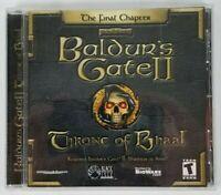 Baldur's Gate II Throne of Bhaal The Final Chapter PC Game 2001