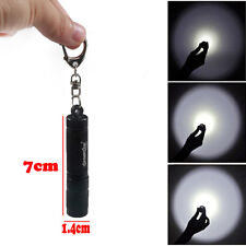 1200 lumen CREE XPE Q5 LED mini Flashlight Torch Pocket Keychain Handy Lamp AAA