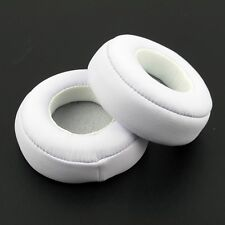 2pcs White Ear Pads Cushion Cover Replace for Monster Beats PRO/DETOX Headphone