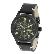 Timex Black Mens Analog Sport Expedition Indiglo TW4B09100