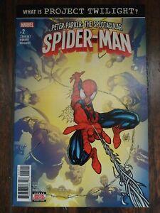PETER PARKER: THE SPECTACULAR SPIDER-MAN #2 (2017) 🕷 2nd THERESA PARKER Marvel