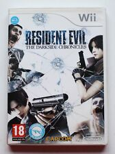 RESIDENT EVIL THE DARKSIDE CHRONICLES - NINTENDO WII - PAL ESPAÑA