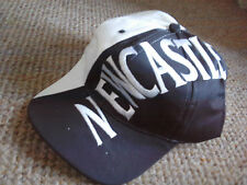 NEWCASTLE  football club  baseball cap hat Black & White, NEW