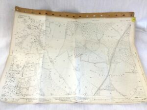 1931 Antique Map of East Sussex Poundfield Steel Cross Pale's Gate Crowborough