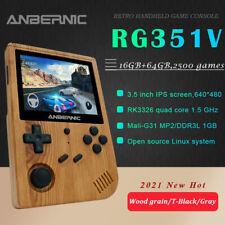 Consola De Juegos Retro anbernic RG351V reproductor de video juego portátil 2400+ Juegos