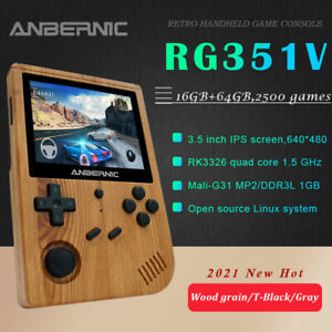 Anbernic RG351V Retro Game Console Handheld Video Game Player 2400+ Games