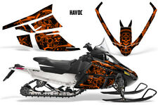 Arctic Cat F Series Sled Wrap Snowmobile Graphics Kit Stickers Decals HAVOC ORNG