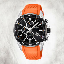 Pur Men's Watch F20330/4 Wristwatch Orange the Originals Uf20330/4 [Festina]