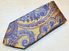 ERMENEGILDO ZEGNA [ MULTI-COLOR ] men's tie 100% Silk Made in Italy