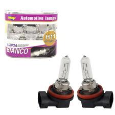 COPPIA FARI LAMPADINE XENON AUTO ATTACCO H11 BIANCO 4300K ALTA LUMINOSITA 55W