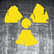 1x Atom Auto Aufkleber Atomkraft Radioaktiv Tuning Zombie Nuclear Shocker 198