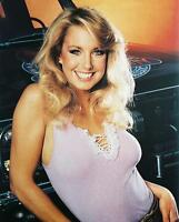 Heather Thomas sexy smiling huge cleavage with truck The Fall Guy 24X30 Poster