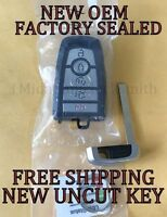 NEW OEM Ford Logo Proximity Smart Remote 5926054 164-R8117 SEALED 5 Buttons