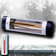NEW! Outdoor Electric Infrared Patio Heater Halogen Tube 2.0kW Wall mounted