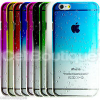 For Apple iPhone Case 4s 5s 6s se 5c Slim Cover Hard Raindrop Back