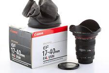 Objectif Canon EF 17-40mm 1:4 USM L pour EOS: 7D 6D 5D 1D... Garanti 6 mois