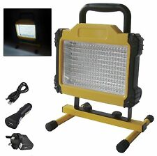 180 LED Recargable Inalámbrico portátil móvil sitio de trabajo lámpara de camping luz de inundación