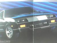 1987 Chevy FULL LINE Brochure:TRUCKS,CAMARO,EL CAMINO,