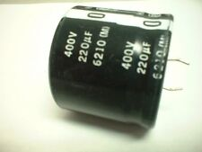 220uf 400v 105 degree Snap Mount Electrolytic Capacitor 35mm x 31mm tall