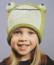 deLux FROG HAT knit child kid cap girls boys gift beanie toque animal costume